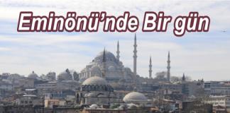 eminönü,istanbulun tarihi yerleri,